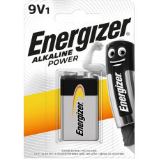 Energizer ALKALINE POWER 9V 1ks