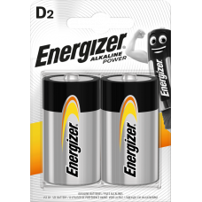 Energizer ALKALINE POWER D 2ks