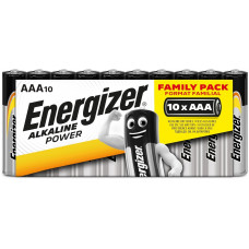 Energizer ALKALINE POWER Family Pack AAA/10