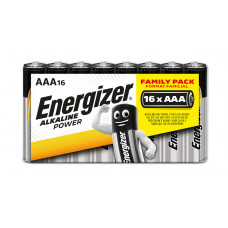 Energizer ALKALINE POWER Family Pack AAA/16