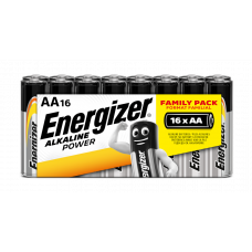 Energizer ALKALINE POWER Family Pack AA/16