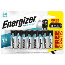 Energizer MAX PLUS AA 8+4 ks