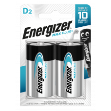 Energizer MAX PLUS D 2ks