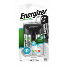 Energizer Pro Charger +4AA Power Plus 2000  mAh
