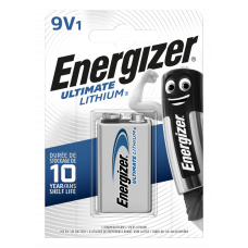 Energizer ULTIMATE LITHIUM 9V 1ks