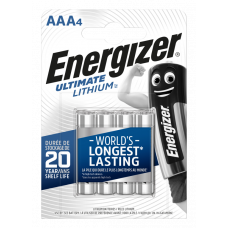 Energizer ULTIMATE LITHIUM AAA 4ks