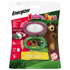 Čelová svítilna Energizer Macha & The Bear Kids Headlight 2xCR2032